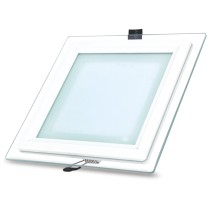 led panel ugraden kocka bel so staklo 6W