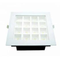led panel ugraden kocka bela ramka 16x1W