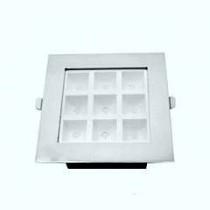 led panel ugraden kocka hrom ramka 9x1W