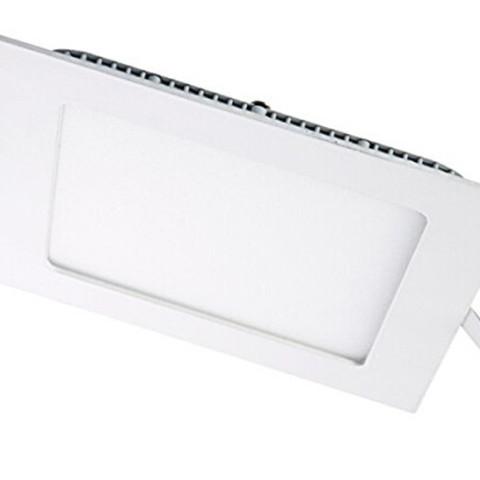 led panel ugraden kocka bela ramka 18W