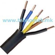 Kabel PP00 5x1.5mm² CU