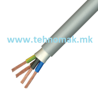 Kabel PPY 4x1,5mm² NYM-J