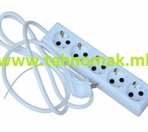 Prodolzen kabel so 5 priklucoci (kabel dolzina 1.5m , 3m , 5m)