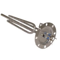 Elektricen grejac za bojler 2000W okrugla flansha so 8 otvori ( napon-230V ; snaga 2000W )