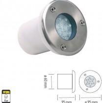 HL 940L 1,2W LED ( led 1,2W , 220V , 50 000 rab. casovi , IP67 , dlabocina- 95mm, sirina- 60mm )