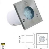 HL 941L 1,2W LED ( led 1,2W , 220V , 50 000 rab. casovi , IP67 , dlabocina- 95mm, sirina- 60mm )
