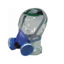 Polumaska so dva filtri (maska za zastita na nos i usta . Vo zavisnost od rabotnite uslovi moze se upotrebuvaat razni filtri )