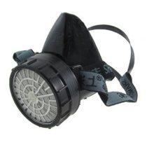 Polumaska so filter (maska za zastita na nos i usta . Vo zavisnost od rabotnite uslovi moze se upotrebuvaat razni filtri )