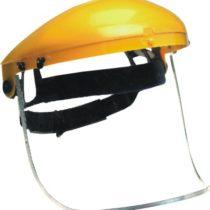 Zasiten vizir za glava ( obezbeduva zastita na liceto i ocite od mehanicki povredi pri rabota )