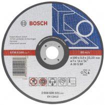 Brusen kamen za metal BOSCH ( Fi 115x3mm; 115x6mm; 125x3mm; 150x3mm; 180x3mm; 230x3mm )